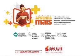 Cursos gratuitos são ofertados na Faculdade São Luís de França