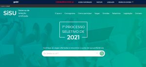 As inscrições devem ser feitas exclusivamente no site do SiSU, com acesso ao sistema através do login único de plataforma do governo.